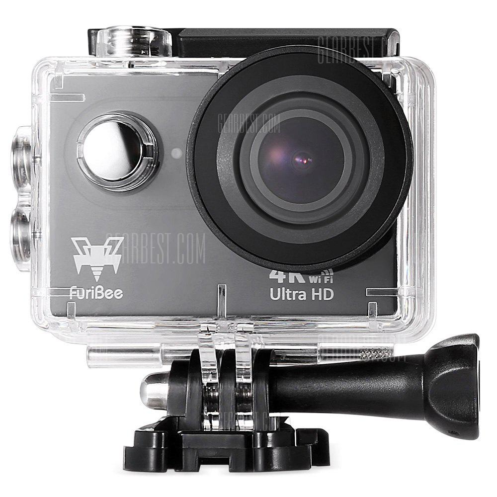 """Furibee H9R Waterproof Action Camera 4K Ultra HD Resolution"""