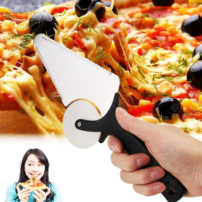 HESSION Multifunction Pizza Cutter Cake Waffle Cutting Tool
