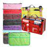 HESSION Portable Multi-function Cosmetics Organizer Bag - RED