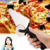 HESSION Multifunction Pizza Cutter Cake Waffle Cutting Tool - SILVER