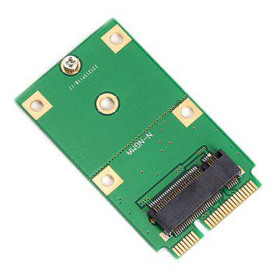M.2 NGFF SSD mSATA do Converter Adapter kart