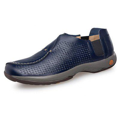 Men Stylish Soft Ultralight Casual Oxford ShoesMen's Oxford<br>Men Stylish Soft Ultralight Casual Oxford Shoes<br><br>Closure Type: Slip-On<br>Contents: 1 x Pair of Shoes, 1 x Box, 1 x Dustproof Paper<br>Function: Slip Resistant<br>Materials: Rubber, Leather<br>Occasion: Tea Party, Party, Office, Holiday, Shopping, Casual, Daily<br>Outsole Material: Rubber<br>Package Size ( L x W x H ): 33.00 x 24.00 x 13.00 cm / 12.99 x 9.45 x 5.12 inches<br>Package weight: 0.9000 kg<br>Pattern Type: Solid<br>Product weight: 0.7000 kg<br>Seasons: Autumn,Spring,Summer,Winter<br>Style: Modern, Leisure, Fashion, Comfortable, Casual<br>Toe Shape: Round Toe<br>Type: Casual Leather Shoes<br>Upper Material: Leather