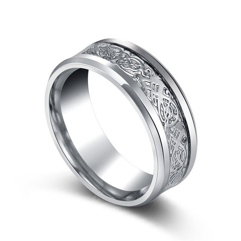 Stainless Steel Unique Stylish Men Ring
