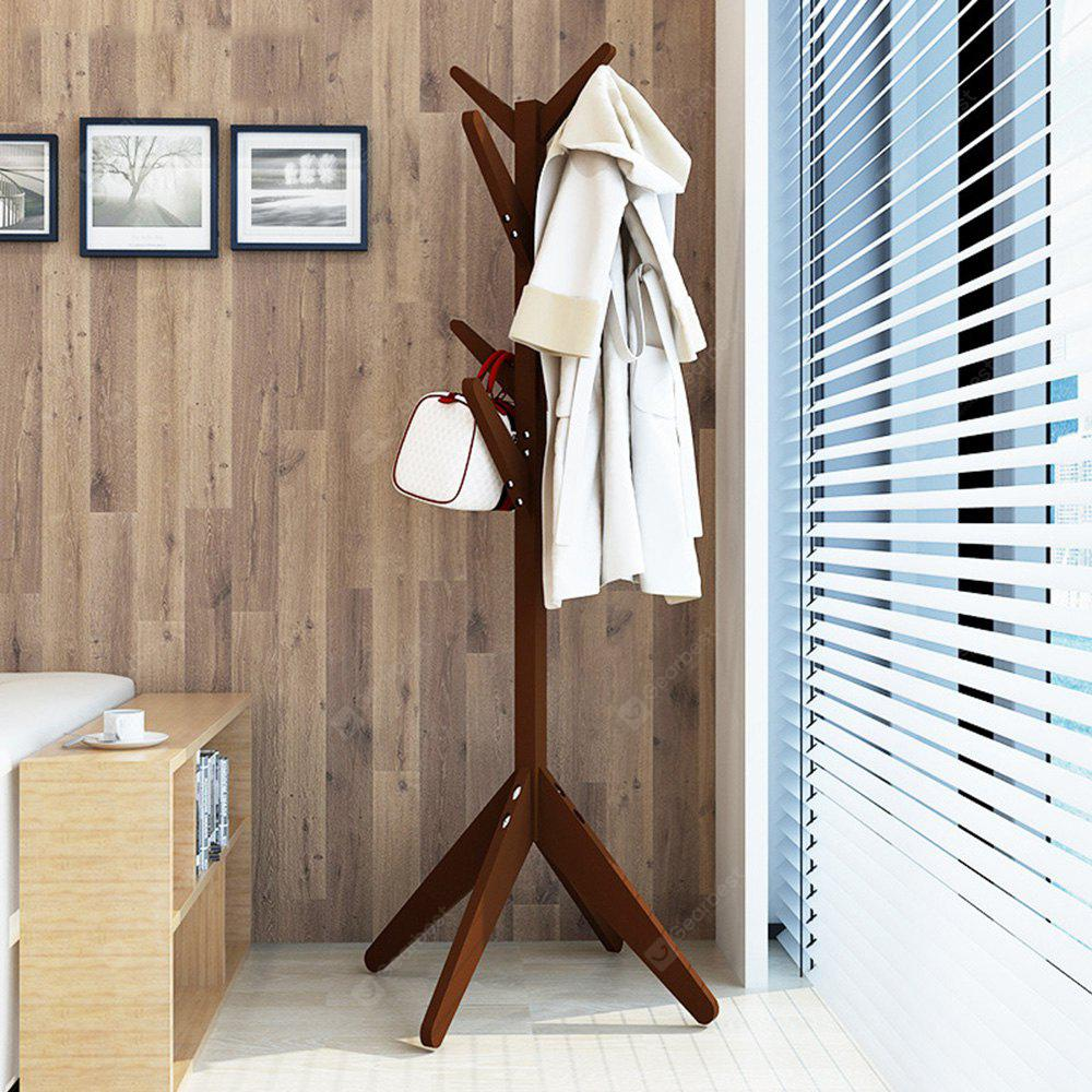 Solid Wood Bedroom Coat Rack