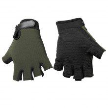 17% OFF Pair of Half-finger Sports Cycling Gloves Male Adjustable Wrist