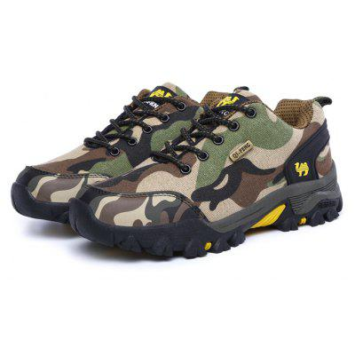 QI FENG CAMEL Men Camouflage Outdoor Athletic Shoes ...