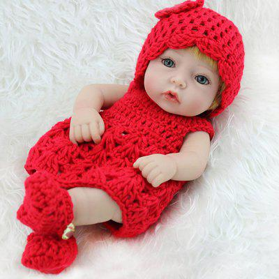 Simulation Silicone Baby Girl Doll Toy