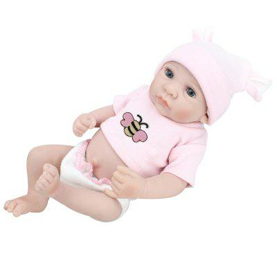 Reborn Doll Emulational Baby Girl Silicone Toy