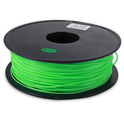 ZONESTAR 1.75mm PLA 3D Printer Filament3D Printer Supplies<br>ZONESTAR 1.75mm PLA 3D Printer Filament<br><br>Brand: ZONESTAR<br>Material: PLA<br>Package Contents: 1 x 3D Printer Filament<br>Package size: 25.00 x 25.00 x 12.00 cm / 9.84 x 9.84 x 4.72 inches<br>Package weight: 1.1000 kg<br>Product size: 23.00 x 23.00 x 9.00 cm / 9.06 x 9.06 x 3.54 inches<br>Product weight: 1.0000 kg