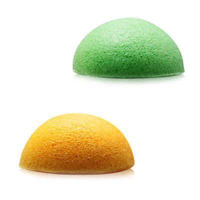 Konjac Spons Facial Cleaning Puff 2PCS