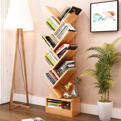 Decorative Tree Storage Rack Display Bookshelf