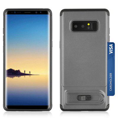 Angibabe Multifunctional 3 in 1 Phone Case for Samsung Galaxy Note 8Samsung Note Series<br>Angibabe Multifunctional 3 in 1 Phone Case for Samsung Galaxy Note 8<br><br>Brand: Angibabe<br>Compatible for Samsung: Samsung Galaxy Note 8<br>Features: Back Cover, Cases with Stand, With Credit Card Holder<br>For: Samsung Mobile Phone<br>Material: TPU, PC<br>Package Contents: 1 x Phone Case<br>Package size (L x W x H): 18.00 x 9.00 x 1.60 cm / 7.09 x 3.54 x 0.63 inches<br>Package weight: 0.0740 kg<br>Product size (L x W x H): 16.50 x 8.00 x 0.90 cm / 6.5 x 3.15 x 0.35 inches<br>Product weight: 0.0520 kg<br>Style: Modern, Special Design