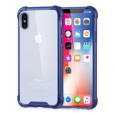 Shatter-resistant Protective Back Cover Case for iPhone X