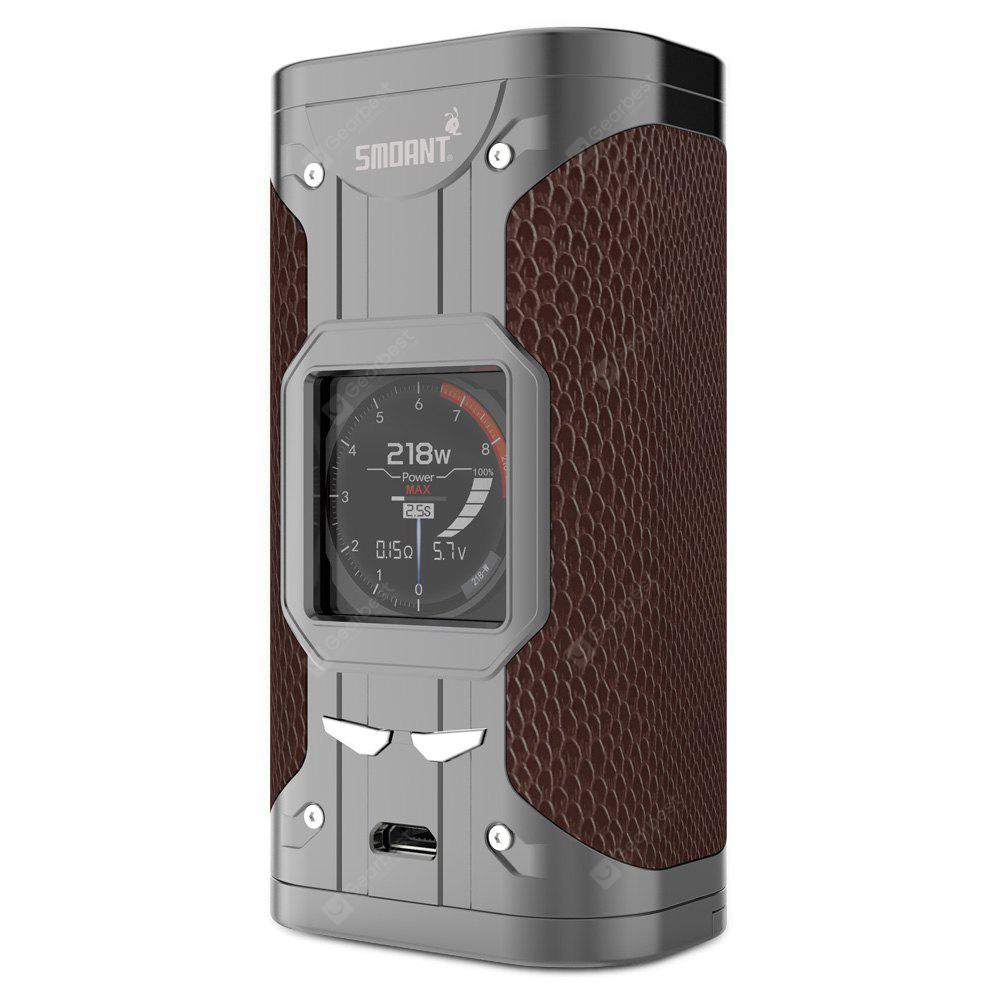 Smoant Cylon 218W TC Box Mod pro E cigaretu - GUN METAL