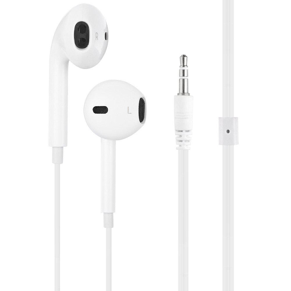 1.1m Cable 3.5mm Jack In-ear Stereo Earbuds Headphones