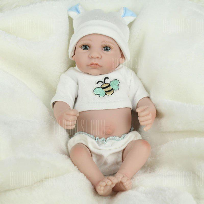 Reborn Doll Emulational Baby Silicone Toy