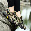QI FENG CAMEL Men Camouflage Outdoor Athletic Shoes - DEEP GREEN