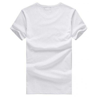 Short Sleeve Angel Girl Motif T-shirtMens Short Sleeve Tees<br>Short Sleeve Angel Girl Motif T-shirt<br><br>Material: Cotton<br>Neckline: Round Neck<br>Package Content: 1 x T-shirt<br>Package size: 26.00 x 20.00 x 1.00 cm / 10.24 x 7.87 x 0.39 inches<br>Package weight: 0.2200 kg<br>Product weight: 0.2000 kg<br>Season: Summer<br>Sleeve Length: Short Sleeves<br>Style: Casual