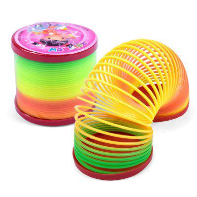 Plastic Rainbow Magic SpringClassic Toys<br>Plastic Rainbow Magic Spring<br><br>Appliable Crowd: Unisex<br>Materials: Plastic<br>Nature: Other<br>Package Contents: 1 x Rainbow Spring<br>Package size: 6.50 x 6.50 x 6.50 cm / 2.56 x 2.56 x 2.56 inches<br>Package weight: 0.0340 kg<br>Product size: 6.00 x 6.00 x 6.00 cm / 2.36 x 2.36 x 2.36 inches