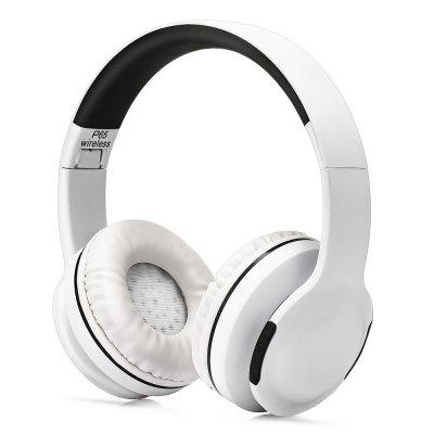 P65 Adjustable Wireless Bluetooth Headphone with TF Slot