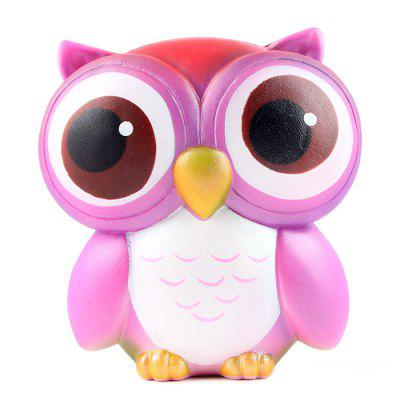 Cute Jumbo Squishy Slow Rising Owl Vent Anti-stress Toy -  USD0 Online Shopping GearBest.com