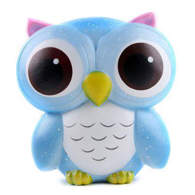 Cute Squishy Slow Rising Owl Vent Anti-stress Toy