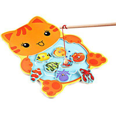 Kids Intellectual Magnet Fishing Rod Pool Toys