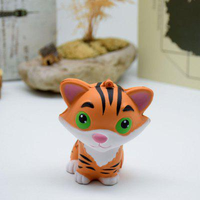 Cute Mini Tiger Style Slow Rising Squishy Toy