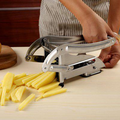 Stainless Steel French Fries Slicer Potato Chipper Cutter
