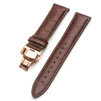 ROPS Unisex Genuine Leather Replacement Watch Strap