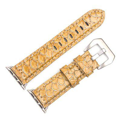 ROPS Stylish Scales Leather Watch Band for iWatch Series 2