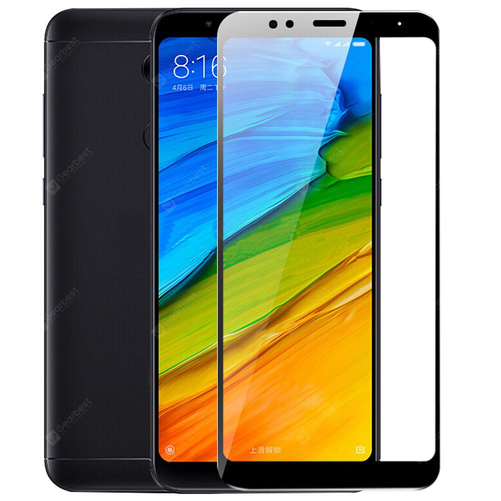 Asling 25d Arc Edge Tempered Glass For Xiaomi Redmi 5 Plus 374 Smile Note4x Clear Free Shipping