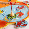 Kids Intellectual Magnet Fishing Rod Pool Toys - ORANGE