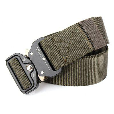 Male Outdoor Tactical Training Nylon Belt with Cobra BuckleMens Belts<br>Male Outdoor Tactical Training Nylon Belt with Cobra Buckle<br><br>Belt Buckle Type: Cobra Buckle<br>Material: Nylon<br>Package Size(L x W x H): 10.00 x 4.00 x 10.00 cm / 3.94 x 1.57 x 3.94 inches<br>Package weight: 0.2200 kg<br>Packing List: 1 x Belt<br>Product weight: 0.2000 kg<br>Style: Outdoor