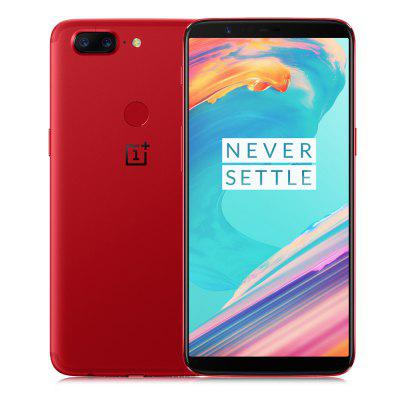 OnePlus 5T 4G Phablet 8GB RAM International Version  -  RED 128GB