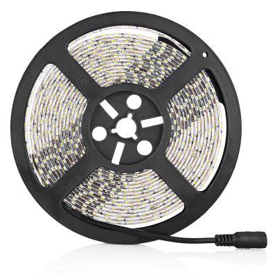 LED Strip Light SMD2835 600 LEDs Waterproof 5MLED Strips<br>LED Strip Light SMD2835 600 LEDs Waterproof 5M<br><br>Beam Angle: 120 degree<br>Color Temperature or Wavelength: 450 - 460nm<br>Features: Cuttable, Festival Lighting<br>LED Quantity: 600<br>Length ( m ): 5<br>Light Source: 2835 SMD<br>Package Content: 1 x LED Strip Light, 1 x Power Adapter<br>Package size (L x W x H): 26.00 x 16.50 x 5.50 cm / 10.24 x 6.5 x 2.17 inches<br>Package weight: 0.3500 kg<br>Product size (L x W x H): 16.00 x 16.00 x 1.00 cm / 6.3 x 6.3 x 0.39 inches<br>Product weight: 0.1500 kg<br>Type: Flexible LED Light Strips<br>Voltage: DC12V<br>Waterproof Rate: IP65<br>Wattage (W): 60W
