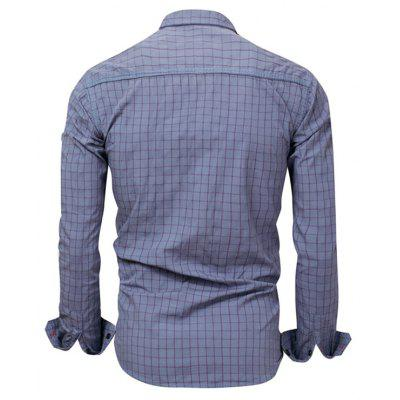 FREDD MARSHALL FM152 Men Plaid Long-sleeved ShirtMens Shirts<br>FREDD MARSHALL FM152 Men Plaid Long-sleeved Shirt<br><br>Brand: FREDD MARSHALL<br>Closure Type: Button<br>Material: Cotton<br>Occasion: Daily Use<br>Package Contents: 1 x Shirt<br>Package size: 30.00 x 30.00 x 2.00 cm / 11.81 x 11.81 x 0.79 inches<br>Package weight: 0.2700 kg<br>Product weight: 0.2600 kg<br>Thickness: Regular