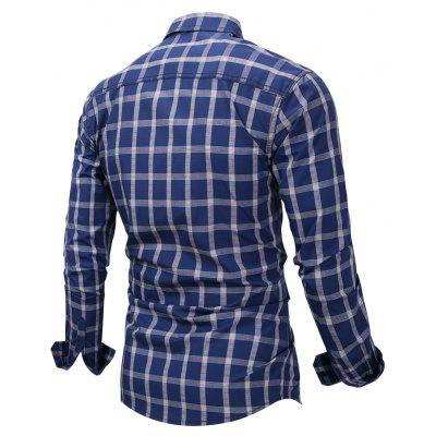 FREDD MARSHALL FM151 Men Plaid Long-sleeved ShirtMens Shirts<br>FREDD MARSHALL FM151 Men Plaid Long-sleeved Shirt<br><br>Brand: FREDD MARSHALL<br>Closure Type: Button<br>Material: Cotton<br>Occasion: Daily Use<br>Package Contents: 1 x Shirt<br>Package size: 30.00 x 30.00 x 2.00 cm / 11.81 x 11.81 x 0.79 inches<br>Package weight: 0.2700 kg<br>Product weight: 0.2600 kg<br>Thickness: Regular