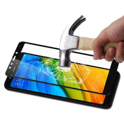 Luanke High Definition Protective Film for Xiaomi Redmi 5 PlusScreen Protectors<br>Luanke High Definition Protective Film for Xiaomi Redmi 5 Plus<br><br>Brand: Luanke<br>Features: Ultra thin, Shock Proof, Protect Screen, High-definition, High Transparency, Anti-oil, Anti scratch, Anti fingerprint<br>Mainly Compatible with: Xiaomi<br>Material: Tempered Glass<br>Package Contents: 1 x Screen Film, 1 x Dust Remover, 1 x Wet Wipe, 1 x Dry Wipe<br>Package size (L x W x H): 20.00 x 12.00 x 1.20 cm / 7.87 x 4.72 x 0.47 inches<br>Package weight: 0.0800 kg<br>Product weight: 0.0100 kg<br>Thickness: 0.26mm<br>Type: Screen Protector