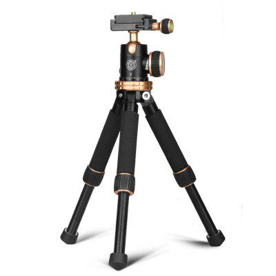 QZSD Q166Z Mini Tripod  with Ball Head for DSLR Camera