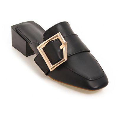 Women Charm Cool Square Toe Chunky Heel Sandals SlippersSlippers &amp; Flip-Flops<br>Women Charm Cool Square Toe Chunky Heel Sandals Slippers<br><br>Closure Type: Slip-On<br>Contents: 1 x Pair of Shoes<br>Function: Slip Resistant<br>Materials: Rubber, PU<br>Occasion: Tea Party, Rainy Day, Party, Holiday, Shopping, Casual, Daily<br>Outsole Material: Rubber<br>Package Size ( L x W x H ): 30.00 x 20.00 x 10.00 cm / 11.81 x 7.87 x 3.94 inches<br>Package weight: 1.0000 kg<br>Pattern Type: Solid<br>Product weight: 0.8000 kg<br>Seasons: Spring,Summer<br>Style: Modern, Leisure, Fashion, Comfortable, Casual<br>Toe Shape: Square Toe<br>Type: Sandals<br>Upper Material: PU