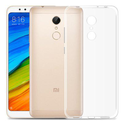 Luanke Transparent Protective Cover Case for Xiaomi Redmi 5