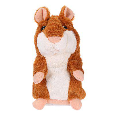 Talking Hamster Plush ToyClassic Toys<br>Talking Hamster Plush Toy<br><br>Color: Brown,Gray<br>Material: Plush<br>Package Contents: 1 x Talking Hamster<br>Package Quantity: 1<br>Package size (L x W x H): 9.00 x 11.00 x 16.50 cm / 3.54 x 4.33 x 6.5 inches<br>Package weight: 0.1700 kg<br>Product size (L x W x H): 8.00 x 10.00 x 15.50 cm / 3.15 x 3.94 x 6.1 inches<br>Product weight: 0.1500 kg<br>Usage: New Year, Others, Party, Valentine Gift