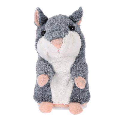 Talking Hamster Plush ToyClassic Toys<br>Talking Hamster Plush Toy<br><br>Color: Brown,Gray<br>Material: Plush<br>Package Contents: 1 x Talking Hamster<br>Package Quantity: 1<br>Package size (L x W x H): 4.00 x 3.00 x 6.20 cm / 1.57 x 1.18 x 2.44 inches<br>Package weight: 0.1700 kg<br>Product size (L x W x H): 3.15 x 2.76 x 5.91 cm / 1.24 x 1.09 x 2.33 inches<br>Product weight: 0.1500 kg<br>Usage: Party, Others, New Year, Valentine Gift