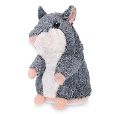 Talking Hamster Plush Toy 10Jan