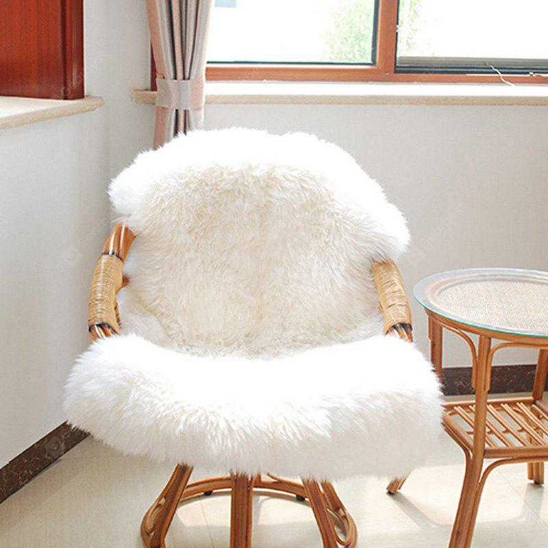 Nordic Style Faux Sheepskin Rug Washable Chair Seat Mat