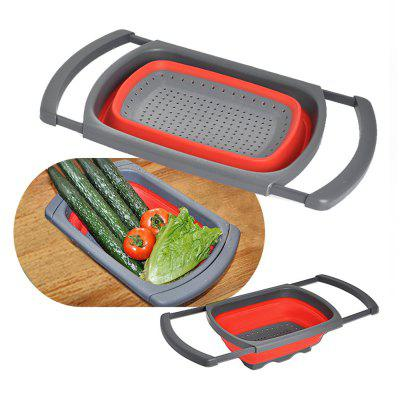 Collapsible Sink Colander Folding Strainer