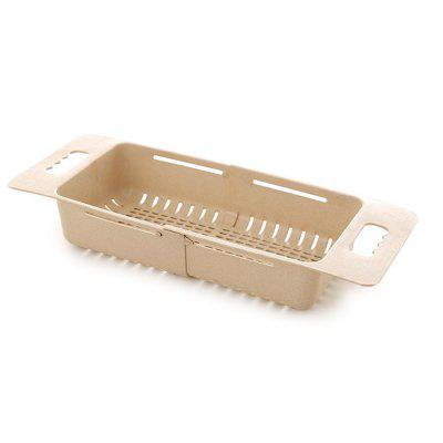 Folding Drain Basket Plastic Vegetable Storage Rack