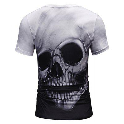 Mr 1991 INC Miss Go T-shirt with Skull MotifsMens Short Sleeve Tees<br>Mr 1991 INC Miss Go T-shirt with Skull Motifs<br><br>Brand: Mr.1991INC&amp;Miss.Go<br>Material: Polyester, Spandex<br>Neckline: Round Neck<br>Package Content: 1 x T-shirt<br>Package size: 38.00 x 30.00 x 1.00 cm / 14.96 x 11.81 x 0.39 inches<br>Package weight: 0.2200 kg<br>Product weight: 0.2000 kg<br>Season: Summer<br>Sleeve Length: Short Sleeves<br>Style: Casual