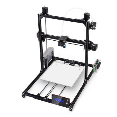 FLSUN Plus DIY 3D Printer Kit3D Printers, 3D Printer Kits<br>FLSUN Plus DIY 3D Printer Kit<br><br>Brand: FLSUN<br>Connector Type: USB, SD card<br>File format: STL, OBJ, G-code<br>Frame material: Aluminum<br>Language: English<br>Layer thickness: 0.1-0.4mm<br>LCD Screen: Yes<br>Material diameter: 1.75mm<br>Nozzle diameter: 0.4mm<br>Nozzle quantity: Single<br>Package size: 73.00 x 34.00 x 15.00 cm / 28.74 x 13.39 x 5.91 inches<br>Package weight: 10.0000 kg<br>Packing Contents: 1 x 3D Printer Kit, 1 x Set of Gifts<br>Packing Type: unassembled packing<br>Platform board: Aluminum Base<br>Print speed: 20 - 150mm/s<br>Product forming size: 30 x 30 x 42cm<br>Product size: 64.00 x 54.00 x 68.00 cm / 25.2 x 21.26 x 26.77 inches<br>Product weight: 8.5000 kg<br>Supporting material: ABS, PLA<br>Type: DIY<br>Voltage: 110V/220V<br>Working Power: 200W<br>XY-axis positioning accuracy: 0.05mm<br>Z-axis positioning accuracy: 0.04mm